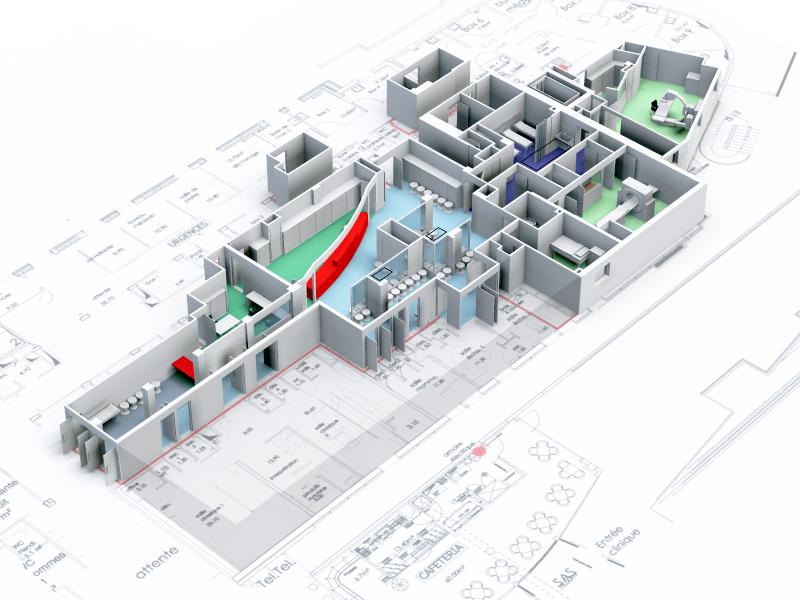 Architecture-médicale-Clinique-Massy-Palaiseau