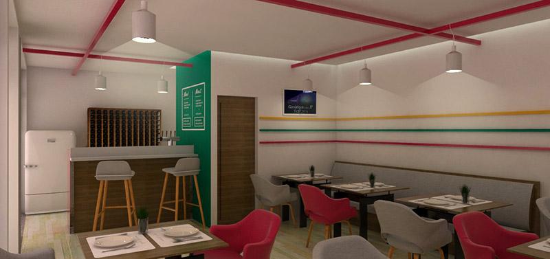Décoration restaurant exotique goussainville m²