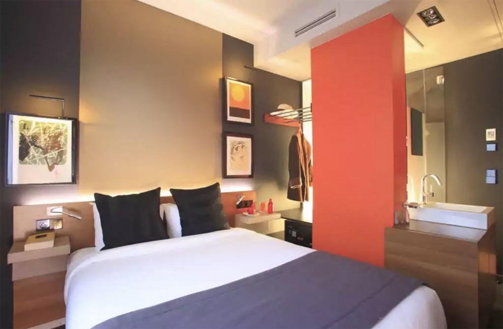 Charte graphique + Aménagement hôtel à Paris